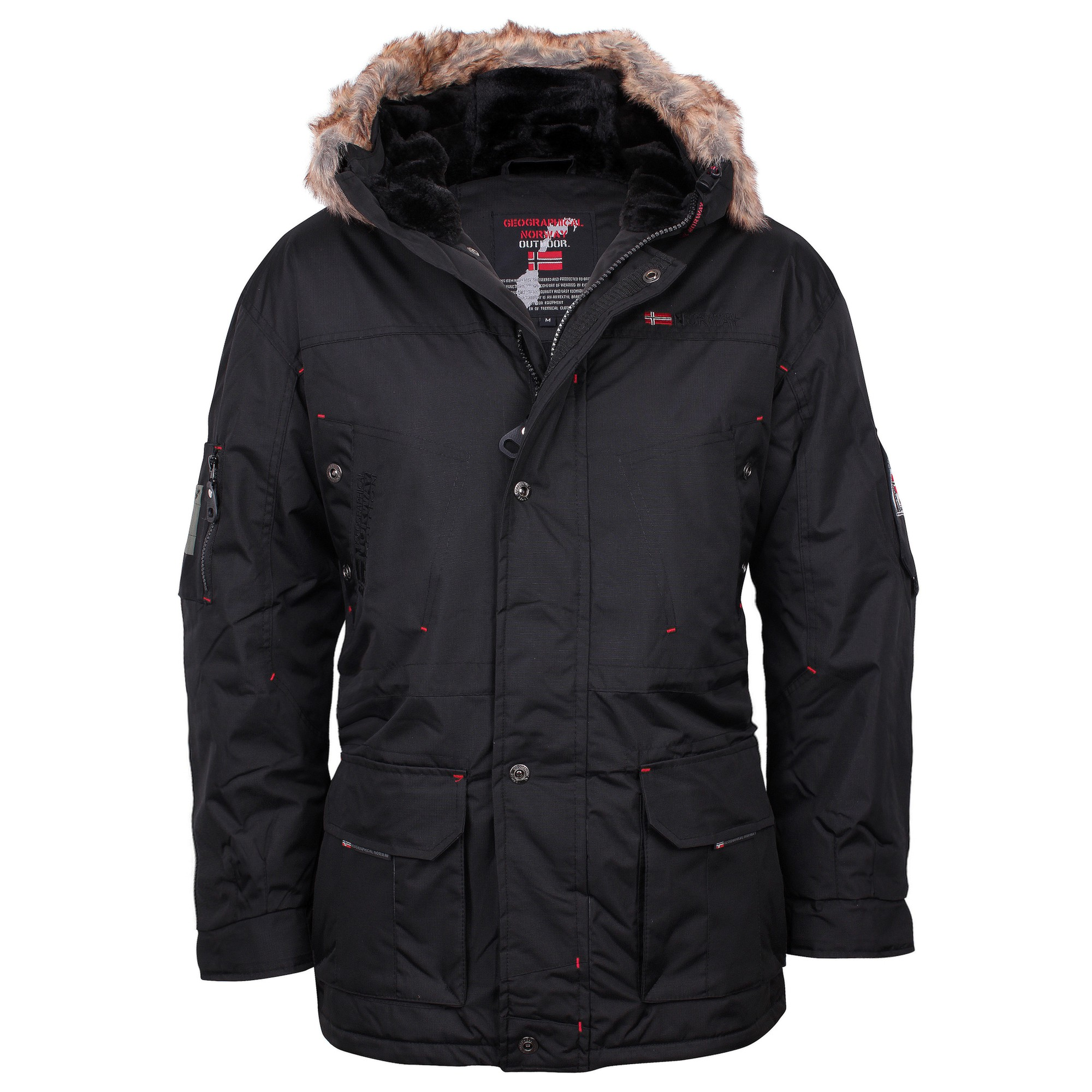 geographical norway winter parka herren jacke winterjacke. Black Bedroom Furniture Sets. Home Design Ideas