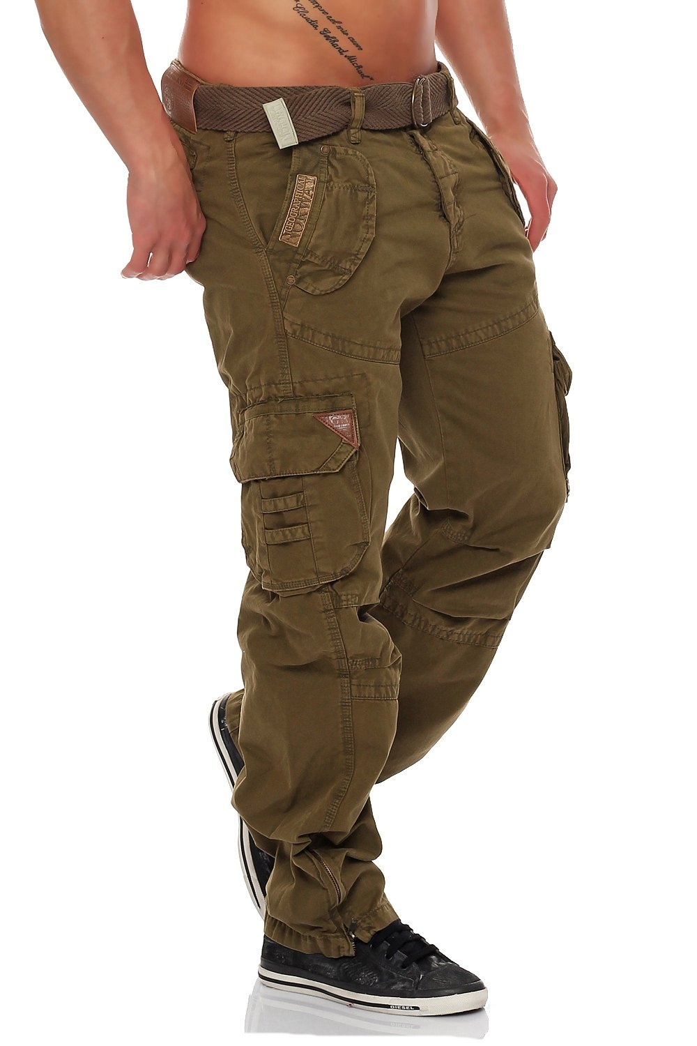 geographical norway herren hose cargo pant pirouette cargohose neu ebay. Black Bedroom Furniture Sets. Home Design Ideas