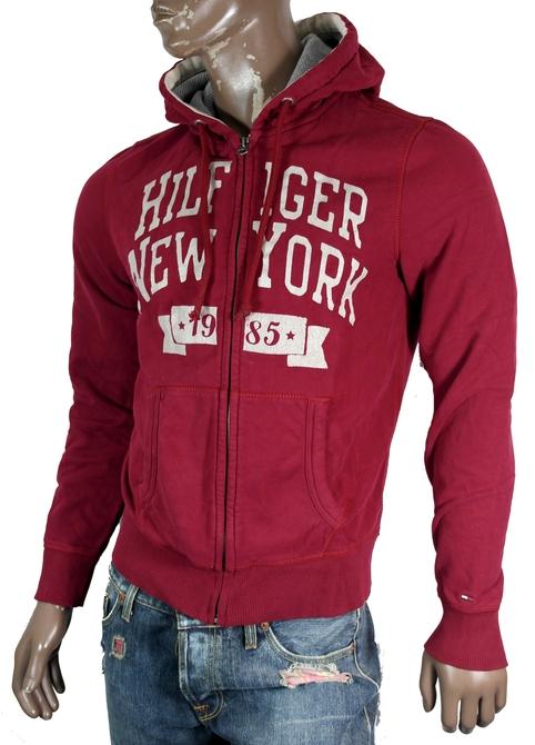Tommy-Hilfiger-Denim-Otter-Hoodie-Sweatjacke-Sweat-Jacke-S-M-L-XL-XXL-2-Farben