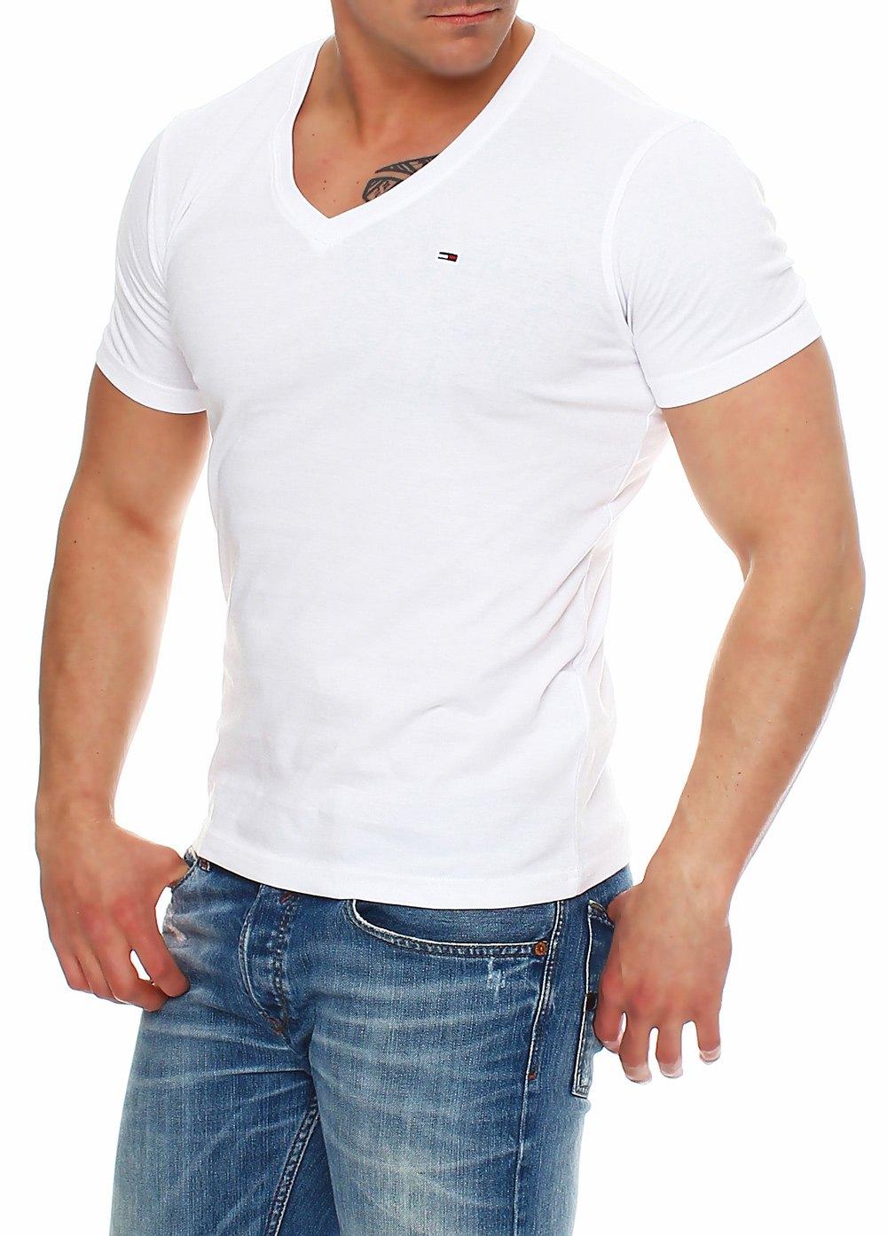 tommy hilfiger denim t shirt shirt v neck tee 1957888835 s m l xl xxl. Black Bedroom Furniture Sets. Home Design Ideas