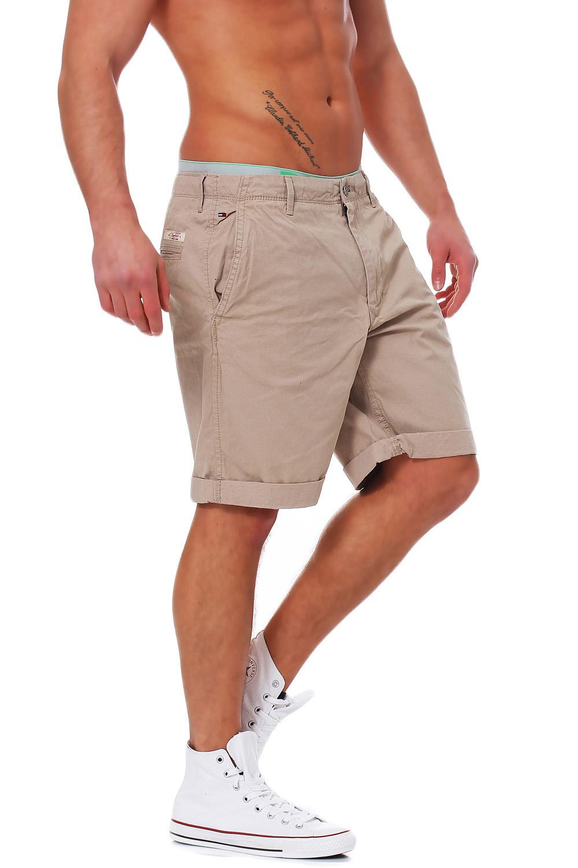 tommy hilfiger denim sasha short sp13 shorts navy beige gr n weiss ebay. Black Bedroom Furniture Sets. Home Design Ideas
