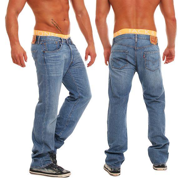 levis 501 herren jeans 14501 0046 w31 w38 neu hose ebay. Black Bedroom Furniture Sets. Home Design Ideas