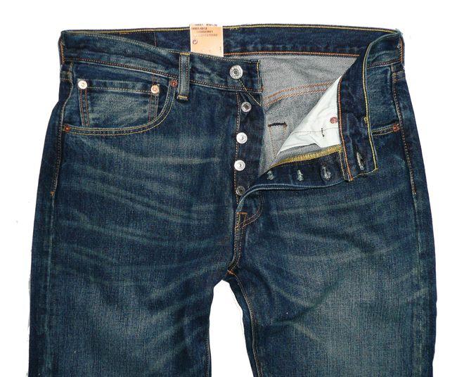 levis 501 herren jeans 14501 0012 neu w31 w38 hose on. Black Bedroom Furniture Sets. Home Design Ideas