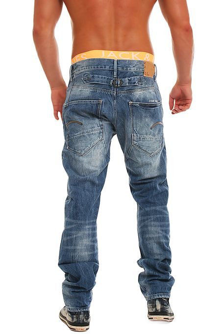 g star herren jeans blades tapered thrive denim neu hose ebay. Black Bedroom Furniture Sets. Home Design Ideas