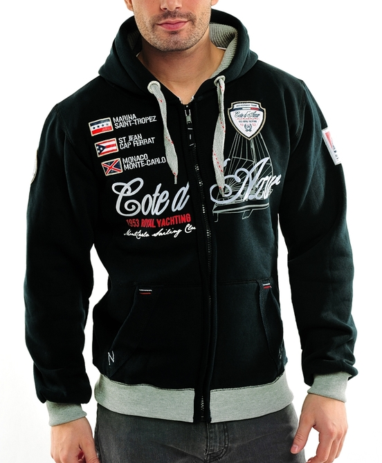 geographical norway sweatjacke pullover jacke giro gr s m. Black Bedroom Furniture Sets. Home Design Ideas