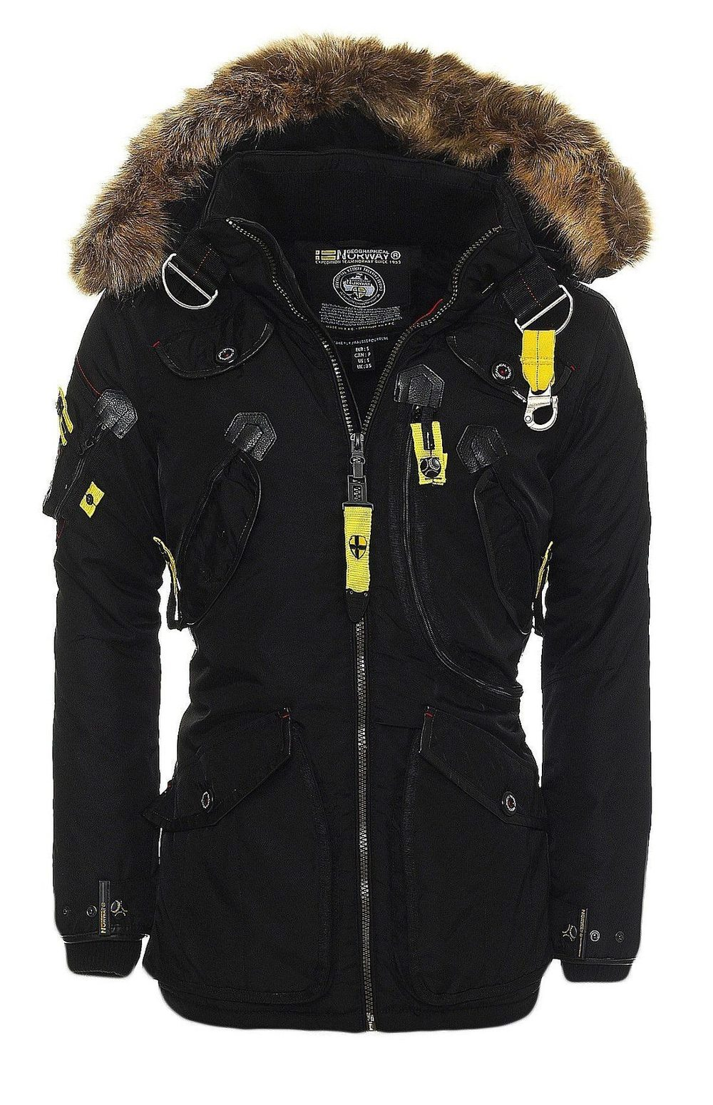 geographical norway parka winterjacke arcos warme jacke outdoor ebay. Black Bedroom Furniture Sets. Home Design Ideas