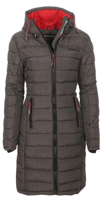 geographical norway damen winter mantel jacke coat parka anorak steppmantel ebay. Black Bedroom Furniture Sets. Home Design Ideas