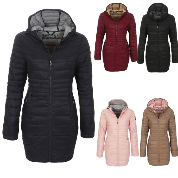 Geographical Femme Norway manteau d/'hiver Veste Manteau Parka Manteau Matelassé Manteau
