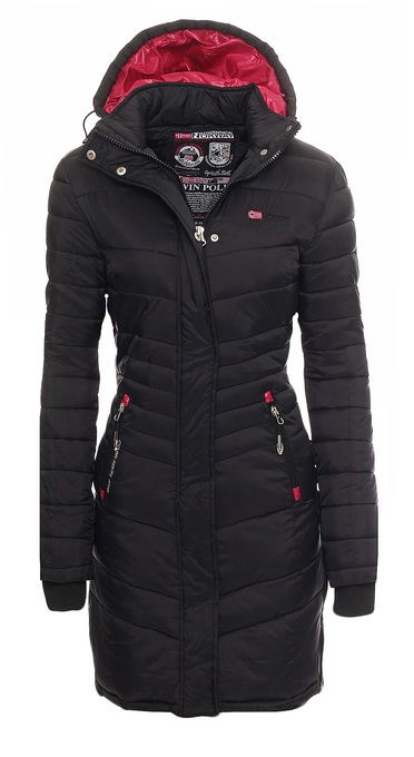Details zu Geographical Norway Carless Winter Mantel Jacke Coat Parka Steppmantel