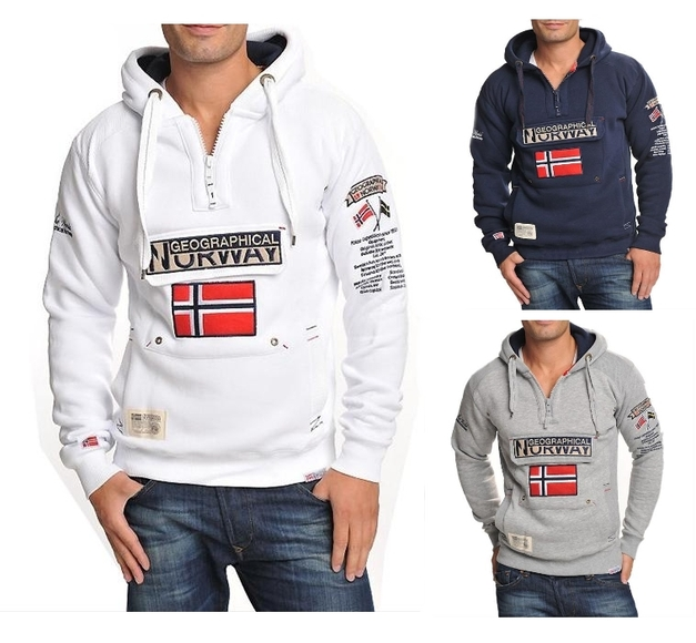 geographical norway sweatshirt pullover gym s xxl ebay. Black Bedroom Furniture Sets. Home Design Ideas