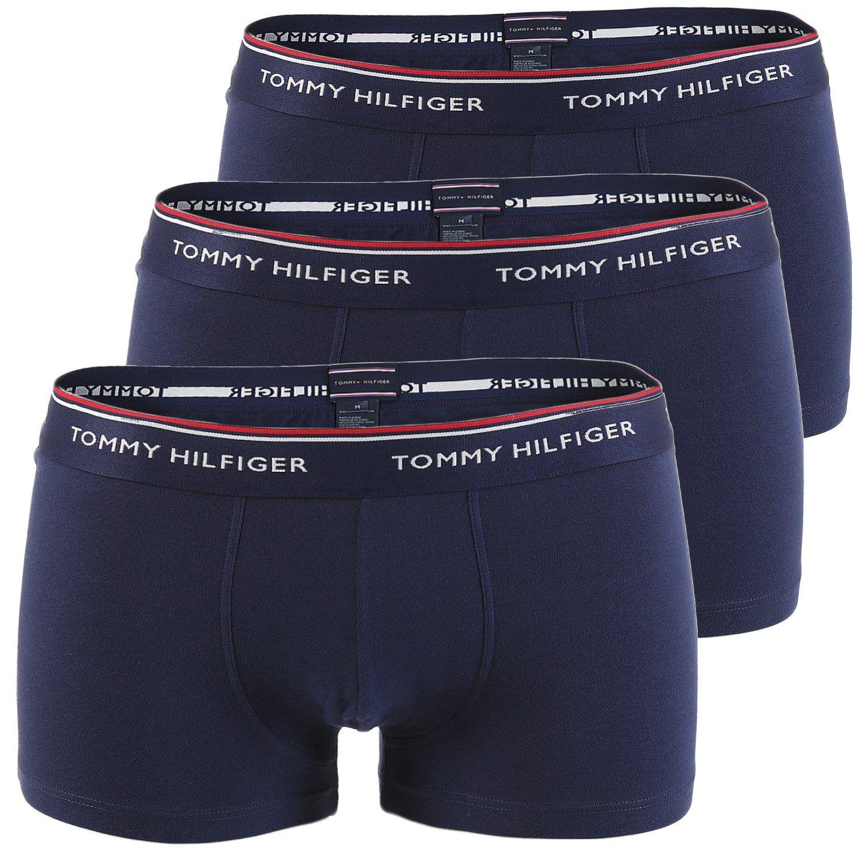 tommy hilfiger 3er pack boxershorts herren shorts. Black Bedroom Furniture Sets. Home Design Ideas