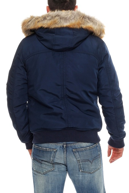 Tommy hilfiger denim technical bomber jacke winterjacke navy