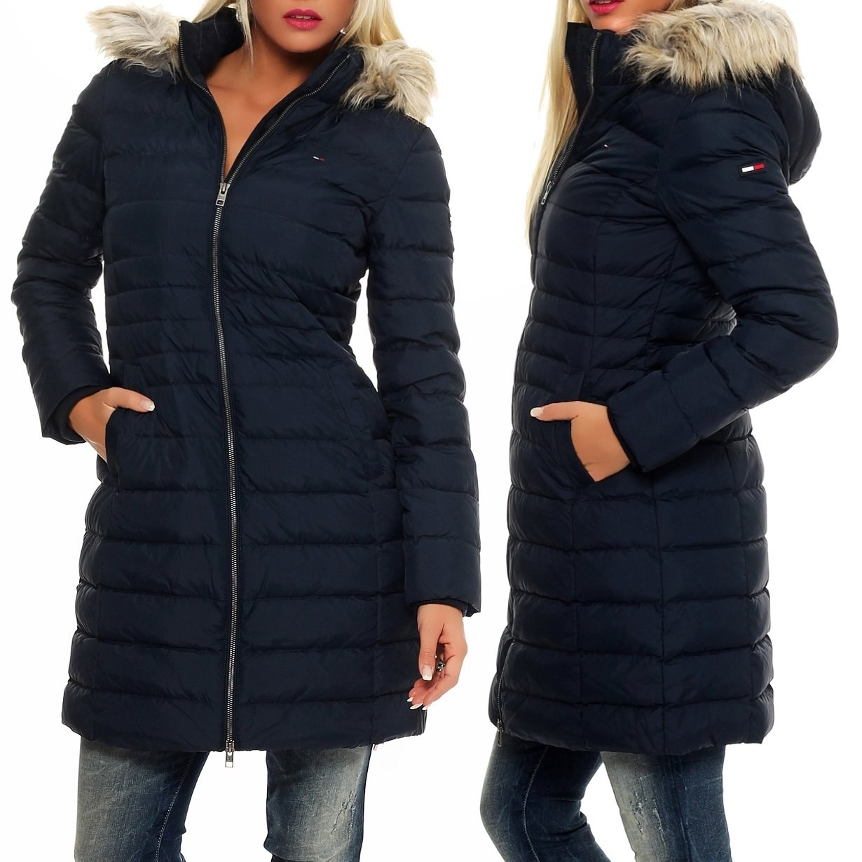 tommy hilfiger winter coat tradingbasis. Black Bedroom Furniture Sets. Home Design Ideas