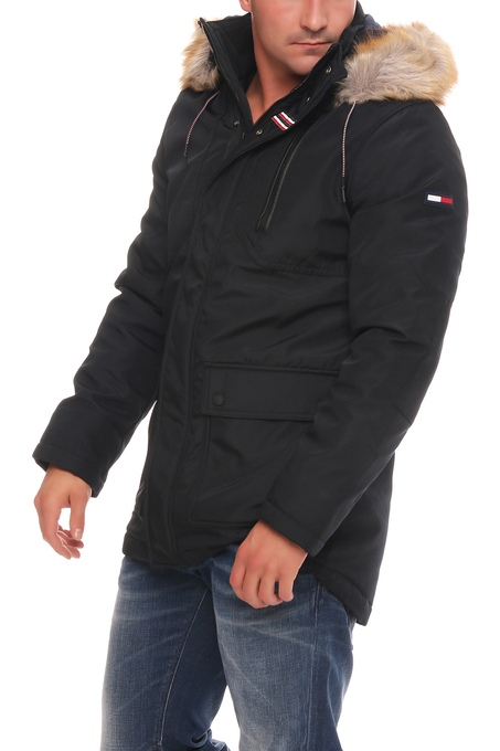 tommy hilfiger denim technical parka jacke jacket. Black Bedroom Furniture Sets. Home Design Ideas