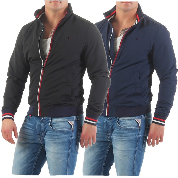 tommy hilfiger denim jacke casual bomber blouson. Black Bedroom Furniture Sets. Home Design Ideas
