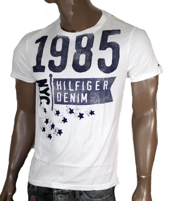 8ff7fc784692 Tommy Hilfiger Denim Eli T-Shirt Shirt Tee Gr S M L XL XXL Tee Hemd ...