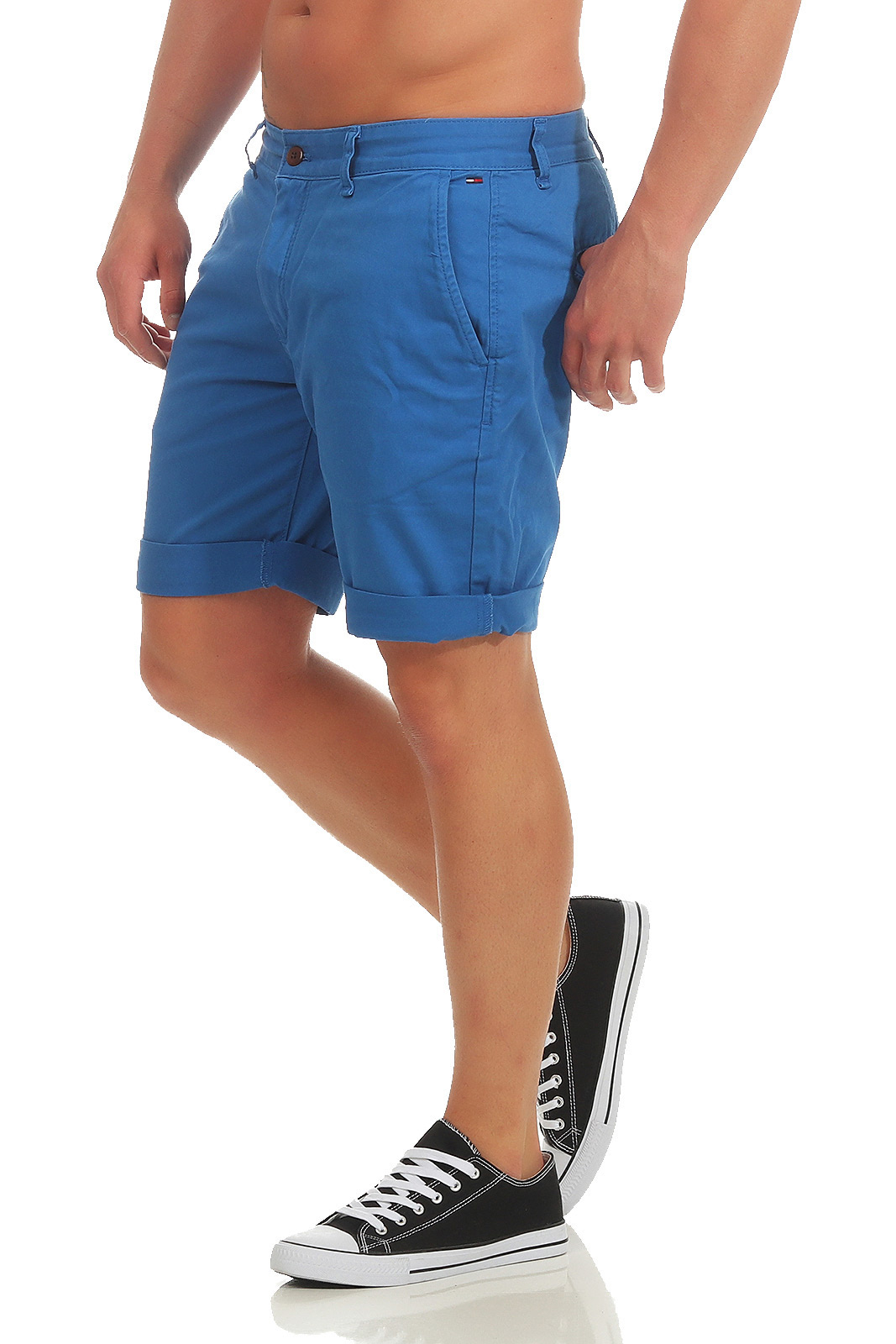Tommy-HILFIGER-Jeans-uomo-Freddy-Short-Shorts-Pantaloni-Corti-Estate-Straight-Fit