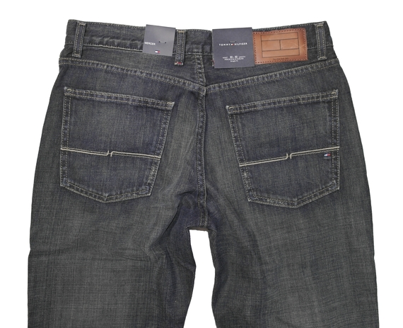 details about tommy hilfiger mercer herren jeans blue shrunk neu hose. Black Bedroom Furniture Sets. Home Design Ideas