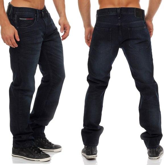 tommy hilfiger denim ryan jeans bkbb straight leg neu hose. Black Bedroom Furniture Sets. Home Design Ideas