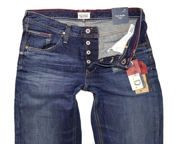 tommy hilfiger denim wilson herren jeans lamr neu hose ebay. Black Bedroom Furniture Sets. Home Design Ideas