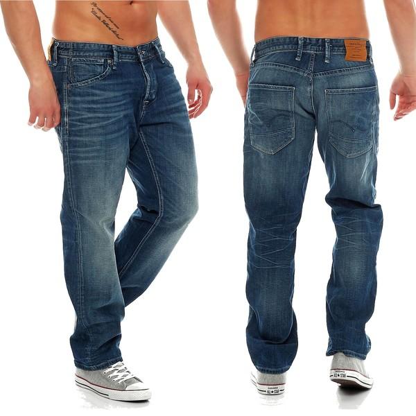 jack jones herren jeans boxy dash 005 powel loose fit. Black Bedroom Furniture Sets. Home Design Ideas