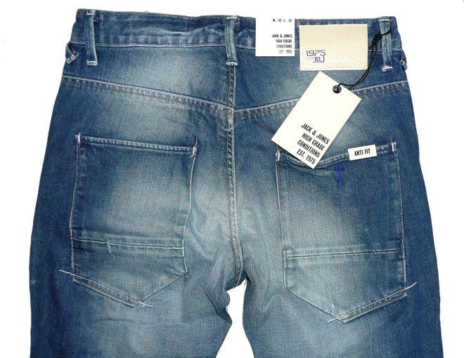 about jack jones herren jeans stan major sc 637 anti fit w31 w36 neu. Black Bedroom Furniture Sets. Home Design Ideas